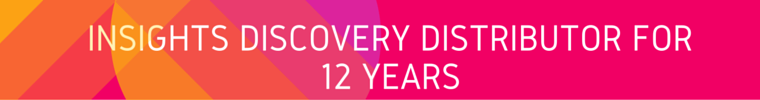 Insights Discovery Distributor for 12 Years