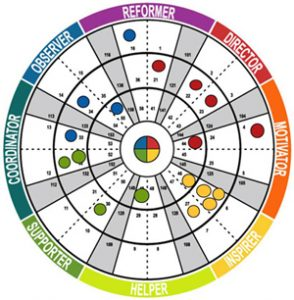 Insights Discovery Team Wheel